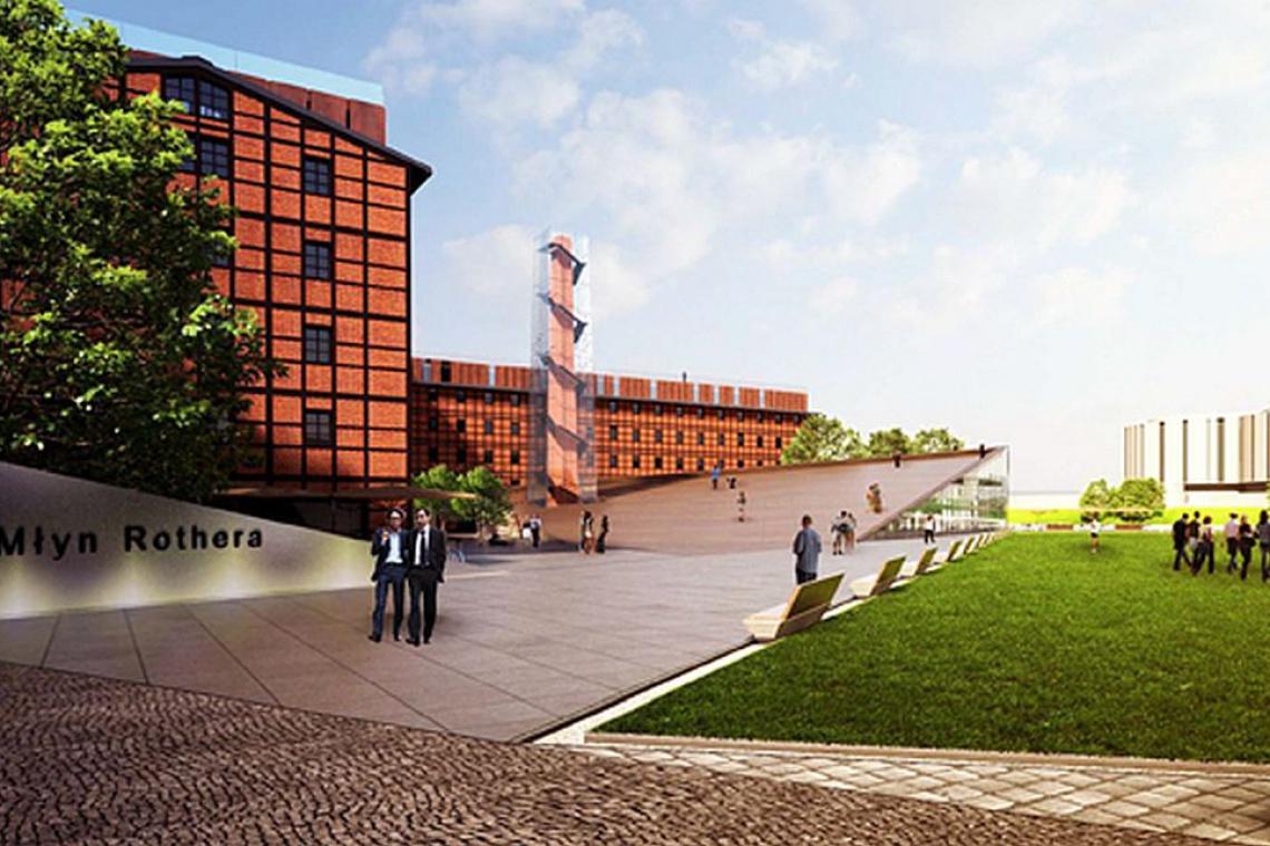 Pracownia Łukasza Szlepera zaprojektuje przebudowę młynów w Bydgoszczy