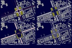 Jak mogłyby wyglądać Plac Narutowicza i Rondo Dmowskiego?