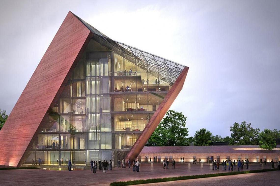 Budowa Muzeum II Wojny Światowej jest już w końcowej fazie