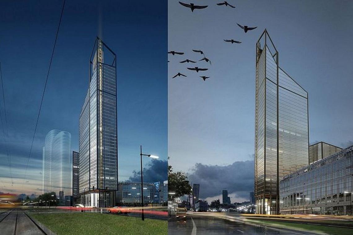 APA Wojciechowski projektuje wieżowiec na warszawskiej Woli