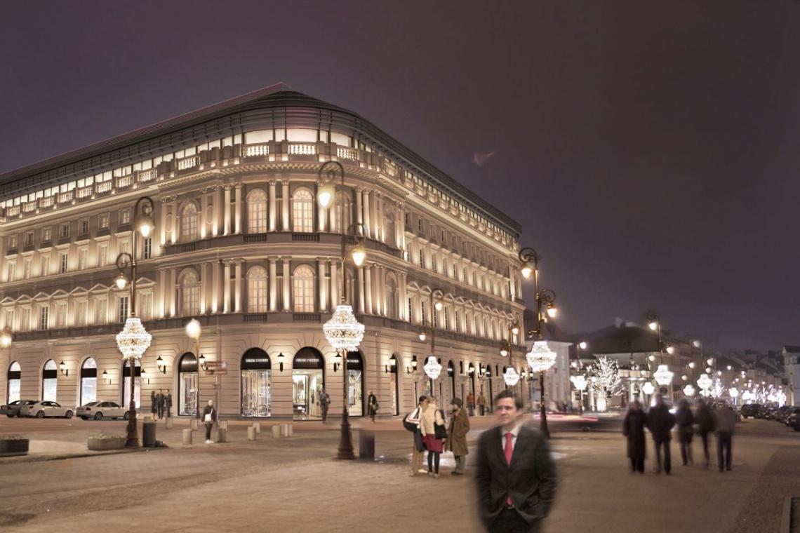 W Hotelu Europejskim będą też biura - trwa kolejny etap remontu