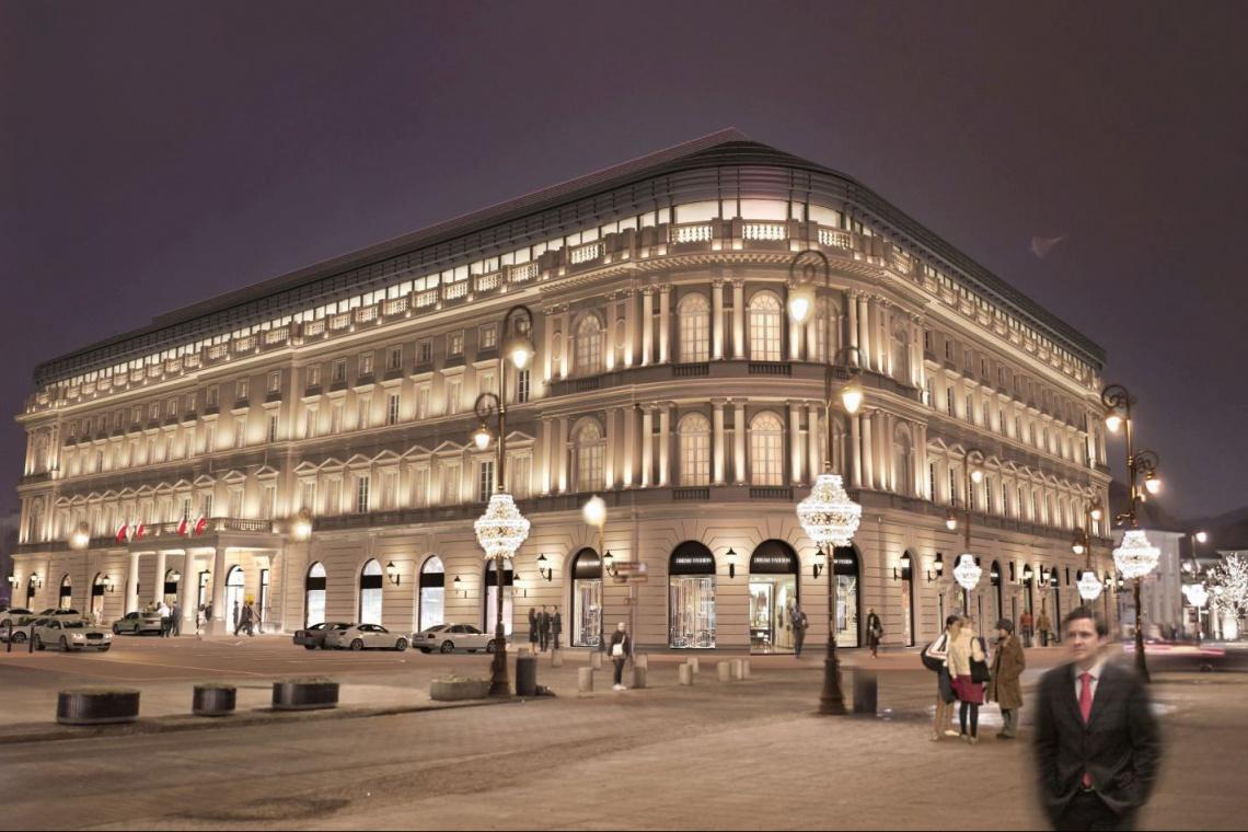 Pod koniec 2016 roku zakończą renowację Hotelu Europejskiego