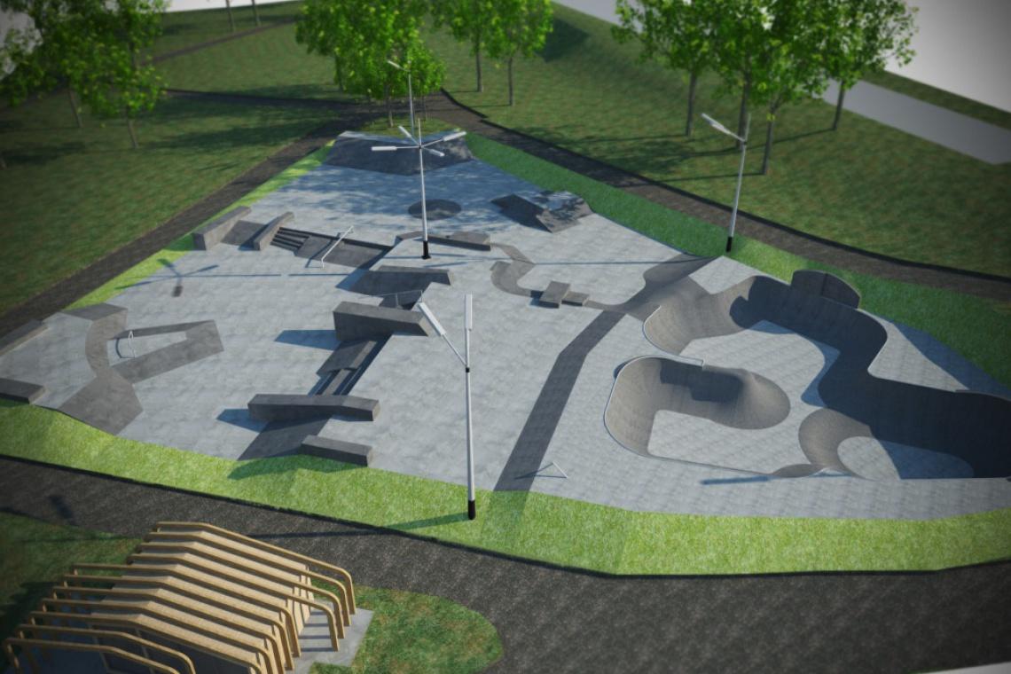 Skatepark w Śródmieściu - wideo