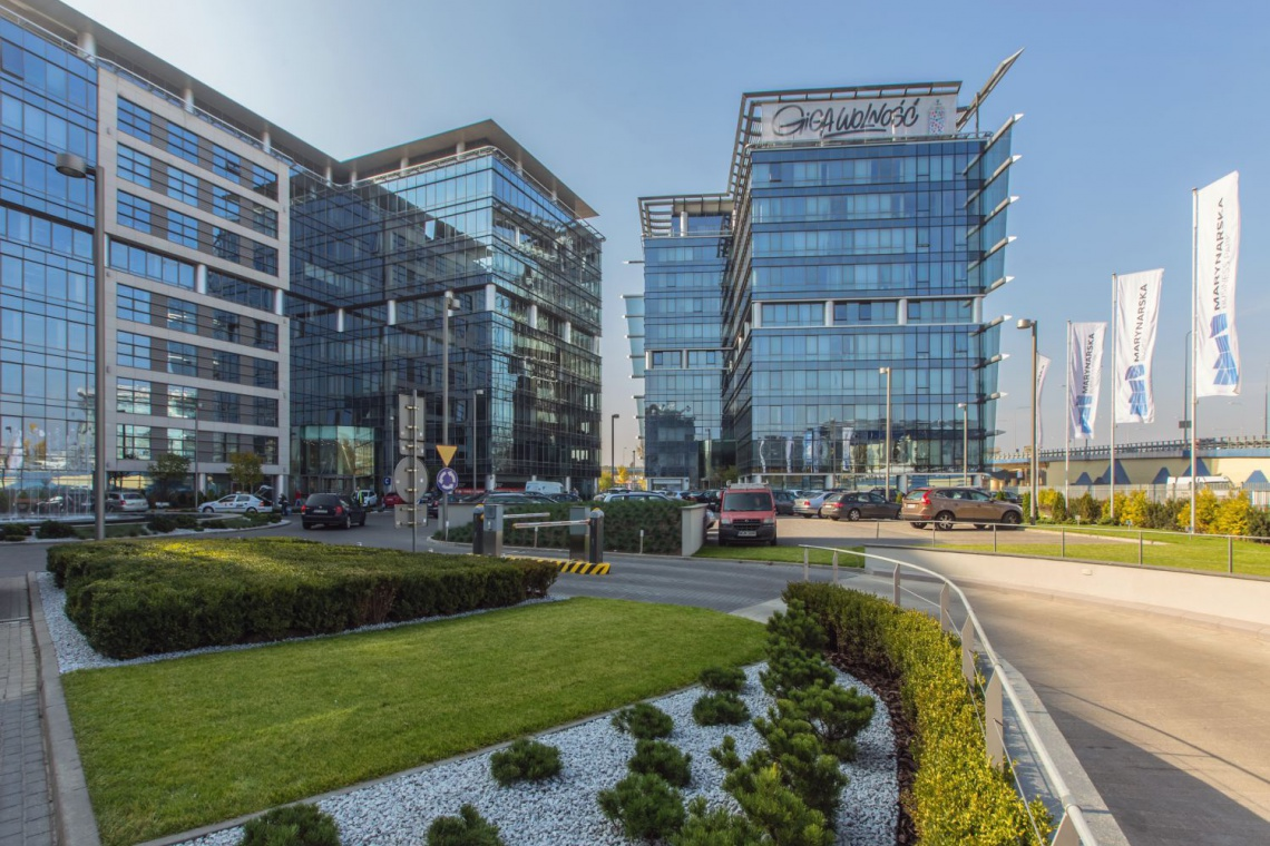 Marynarska Business Park z certyfikatem BREEAM In-Use