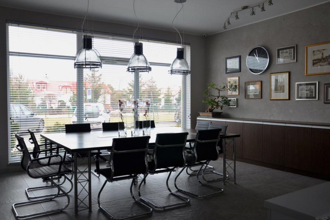 Industrialne biuro od Michel Design