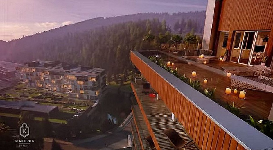 Aparthotel w Beskidach od Susuł & Strama Architekci - wideo