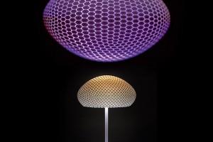 Designerska lampa wydrukowana w technologii 3D