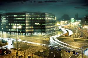 Elegancki biurowiec - największy w portfolio Skanska