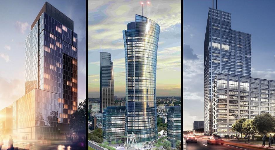 7 nowych biurowców na warszawskiej Woli