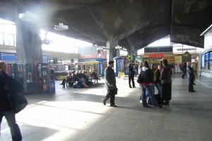 Zobacz dworzec PKP w Katowicach - przed remontem i po