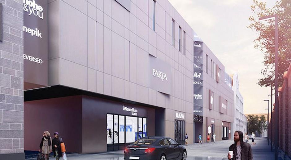 Nowa galeria handlowa - Black Rock Arena