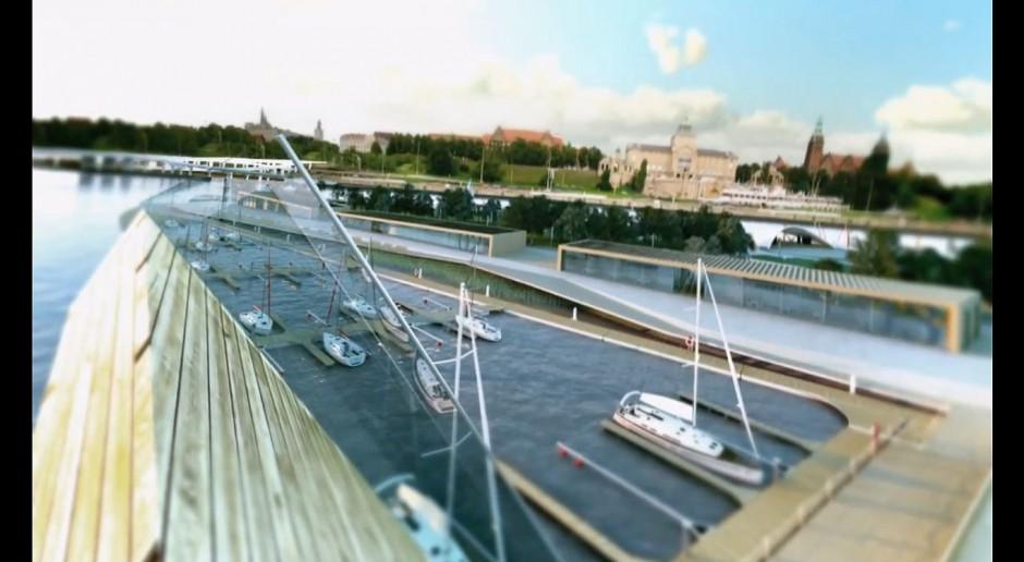 Port na Wyspie Grodzkiej ma szansę zostać wizytówką Szczecina