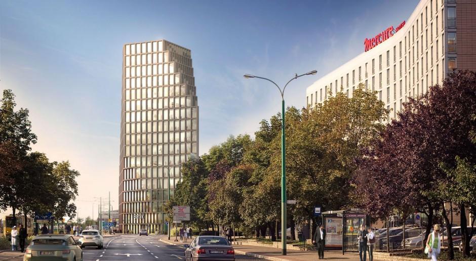 Postępują prace przy budowie biurowca Bałtyk od MVRDV