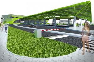 Zbliża się otwarcie dworca Płock projektu Archidea
