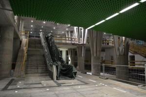 Zielona stacja II linii metra