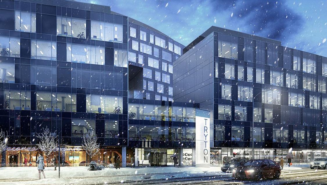 Plac budowy Tryton Business House przejęty