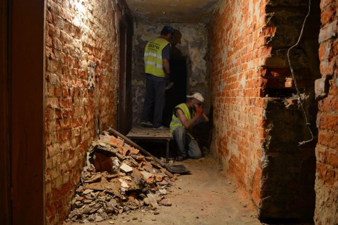 W czasie remontu dworca znaleziono pamiątki z II wojny światowej