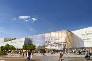 Galeria Północna od APA Wojciechowski i Tzur Architects z pozwoleniem na budowę