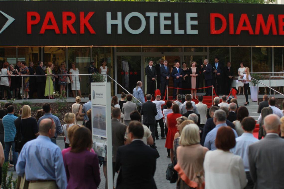 Otwarcie Park Hotelu Diament z wielką pompą