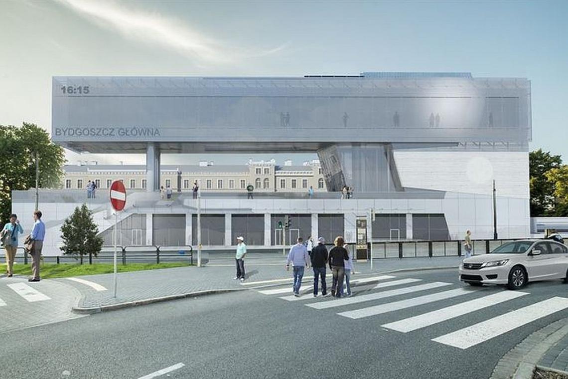 Bydgoszcz: modernizacja dworca przy wsparciu środków unijnych