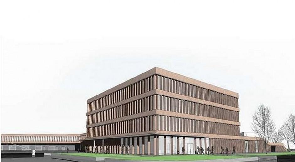 Nowa siedziba MPWiK wykreowana przez dwa biura