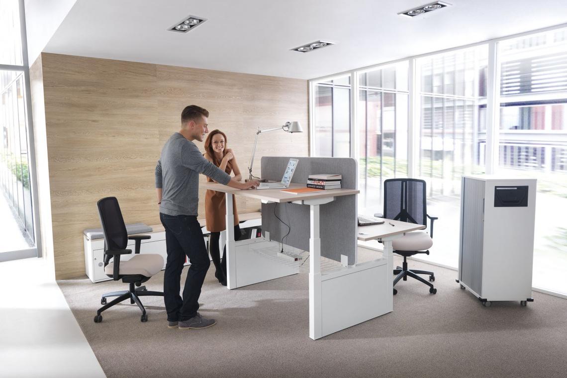 Aranżacja biura wpływa znacząco na efektywność zespołu