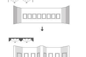 """Przestrzeń, która """"wciąga"""" widza według Ultra Architects"""