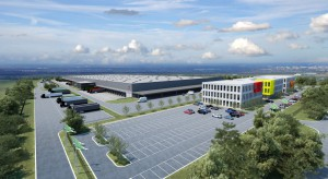 Centrum magazynowo-biurowe według projektu GP Port