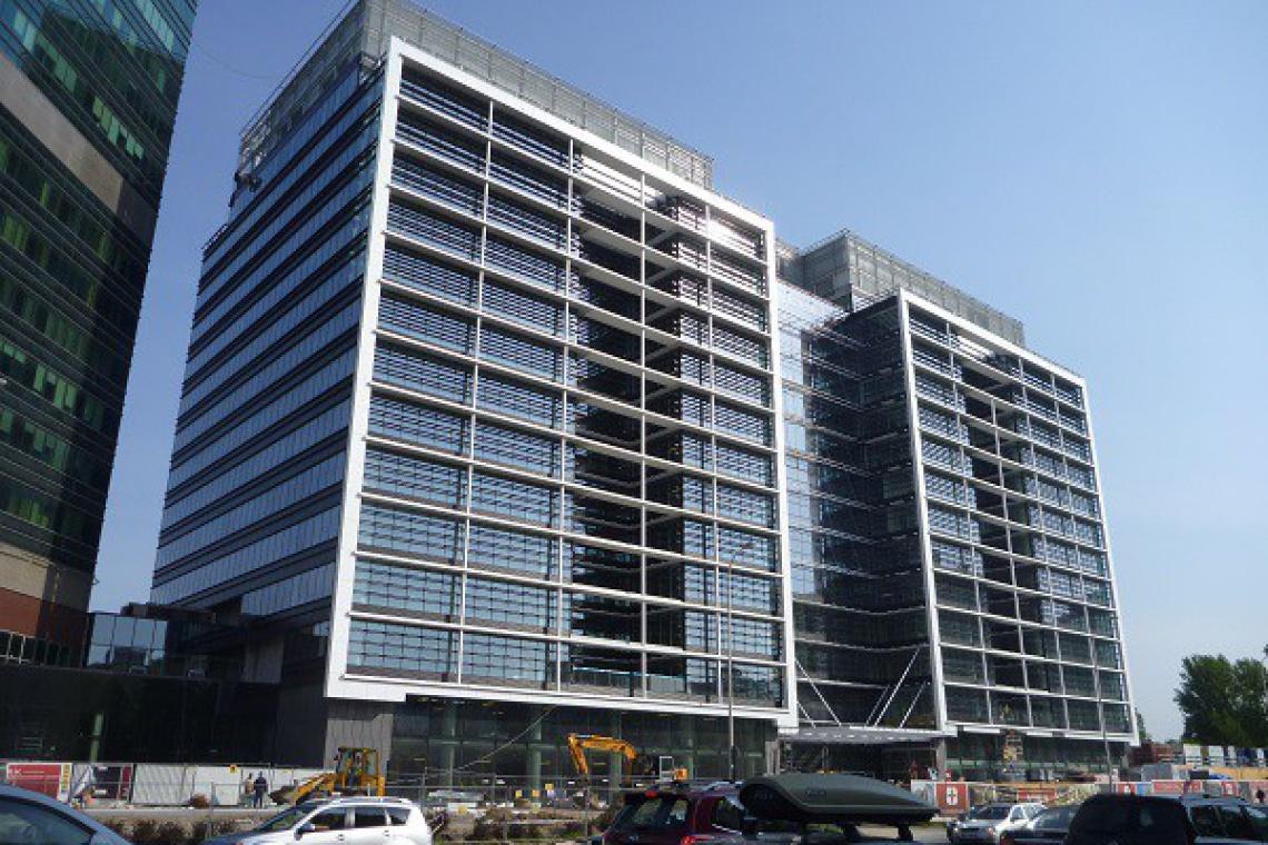 Eurocentrum spod kreski PRC Architekci oddane do użytku