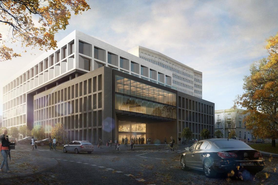 BLM Architekci nadzadzą kształt biurowcowi Orion