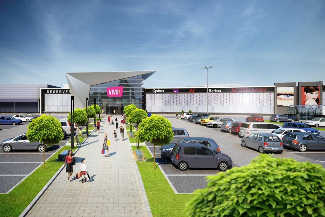 NC Architekci zaprojektowali galerię VIVO!, a Erbud wybuduje