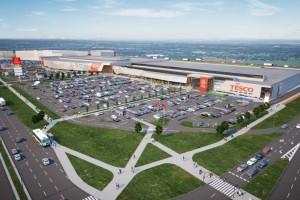 Rozbudowa Parku Handlowego Bielany na finiszu