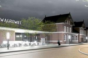 Rusza rewitalizacja dworca w Wągrowcu projektu Consultor