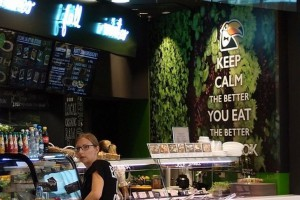 Keep calm and eat better - design od A+D dla Tukan Salad Bar