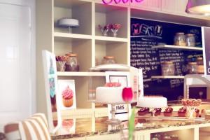 Bardzo słodki projekt cukierni według pracowni Osom