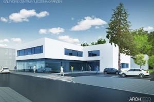 Arch-Deco dało koncepcję Centrum Leczenia Oparzeń w Gdańsku