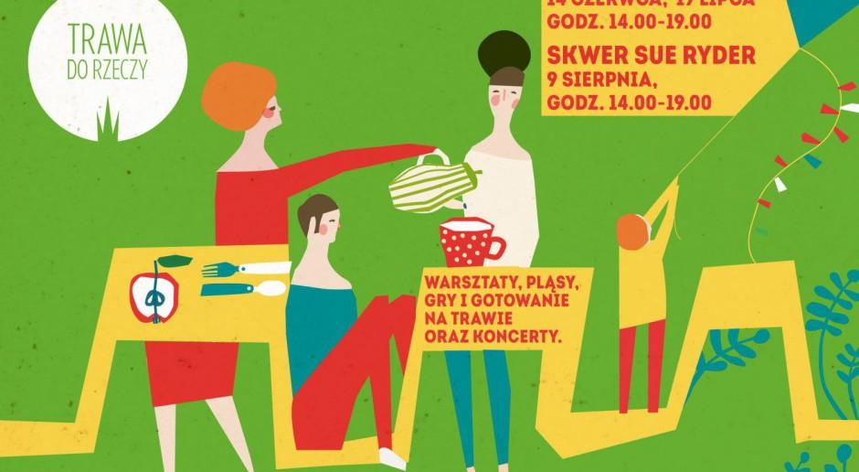 Cel: wykreować szlak rekreacyjny przez zielone skwery i parki Gdyni