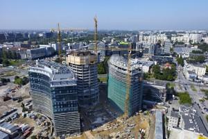 Wieża Warsaw Spire ma już 16 pięter