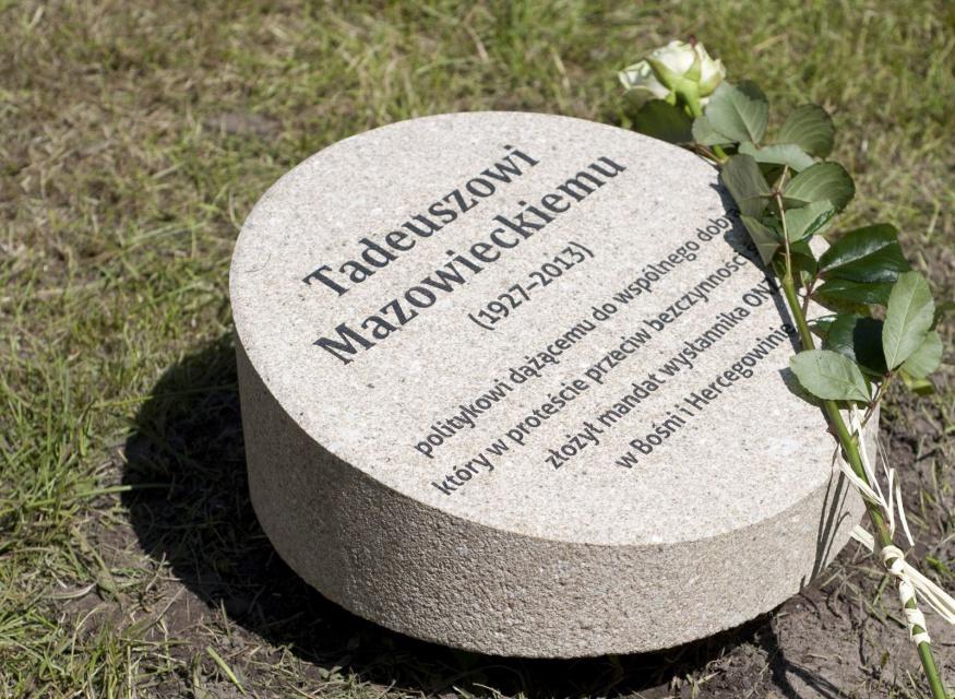 Pierwszy w Polsce Ogród Sprawiedliwych już otwarty