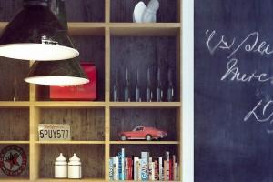Styl vintage w projekcie restauracji od pracowni Osom