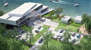 Centrum szkoleniowo-hotelowe Kronospan nad jeziorem Trzesiecko