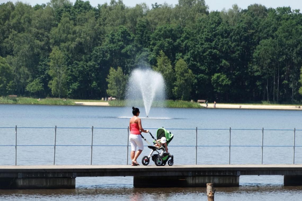 Efektowne fontanny w Paprocanach już działają