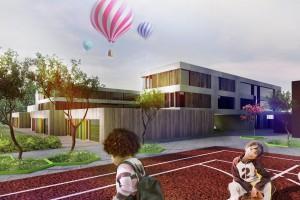 Szkoła we Wrocławiu – stonowana i powściągliwa