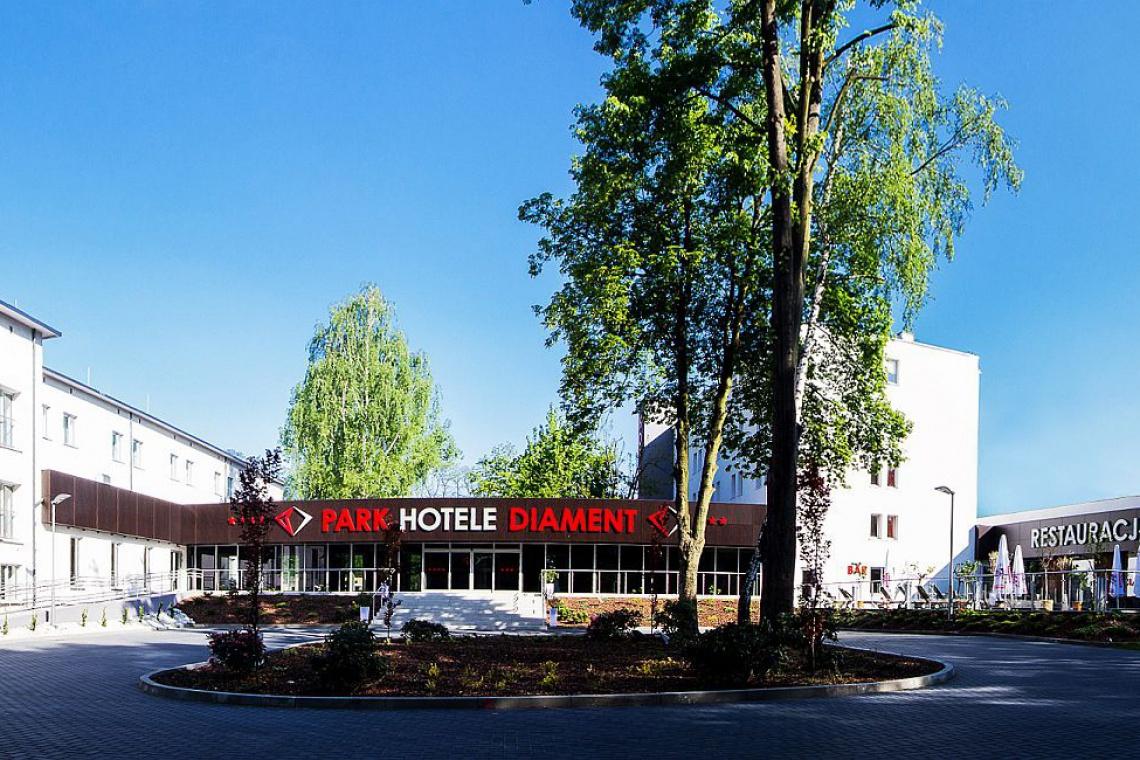 Hotele Diament na trasie śląskiej Industriady