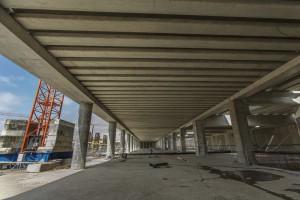 Dworzec Łódź Fabryczna rośnie w oczach