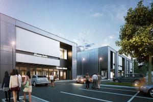 Nowy park handlowy spod kreski Q2 Studio