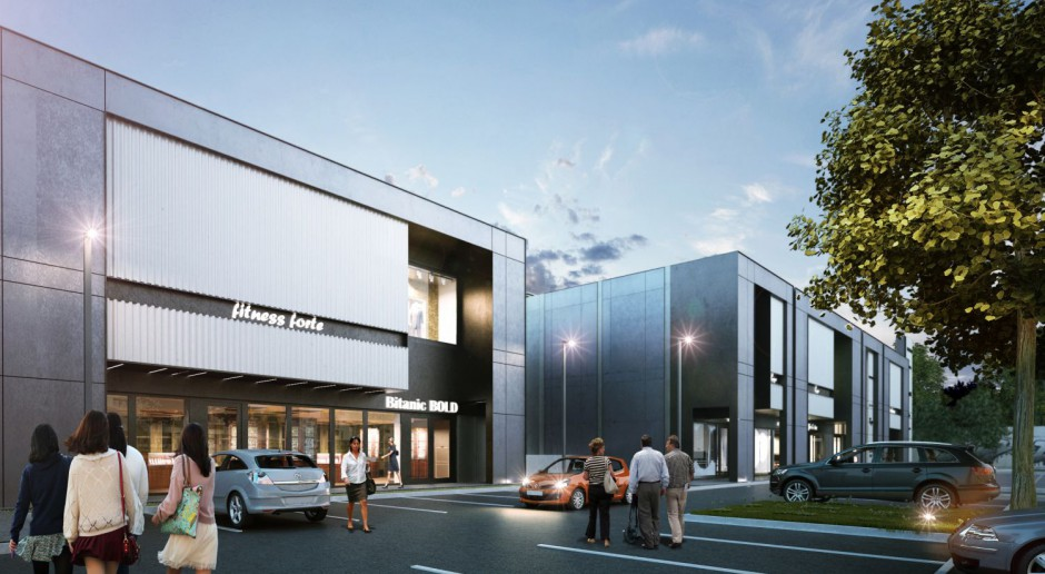 Park handlowy Galaktyka projektu Q2 Studio już otwarty