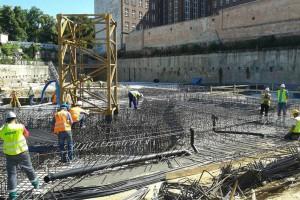 Ruszyła budowa OVO Wrocław - prace przy fundamentach