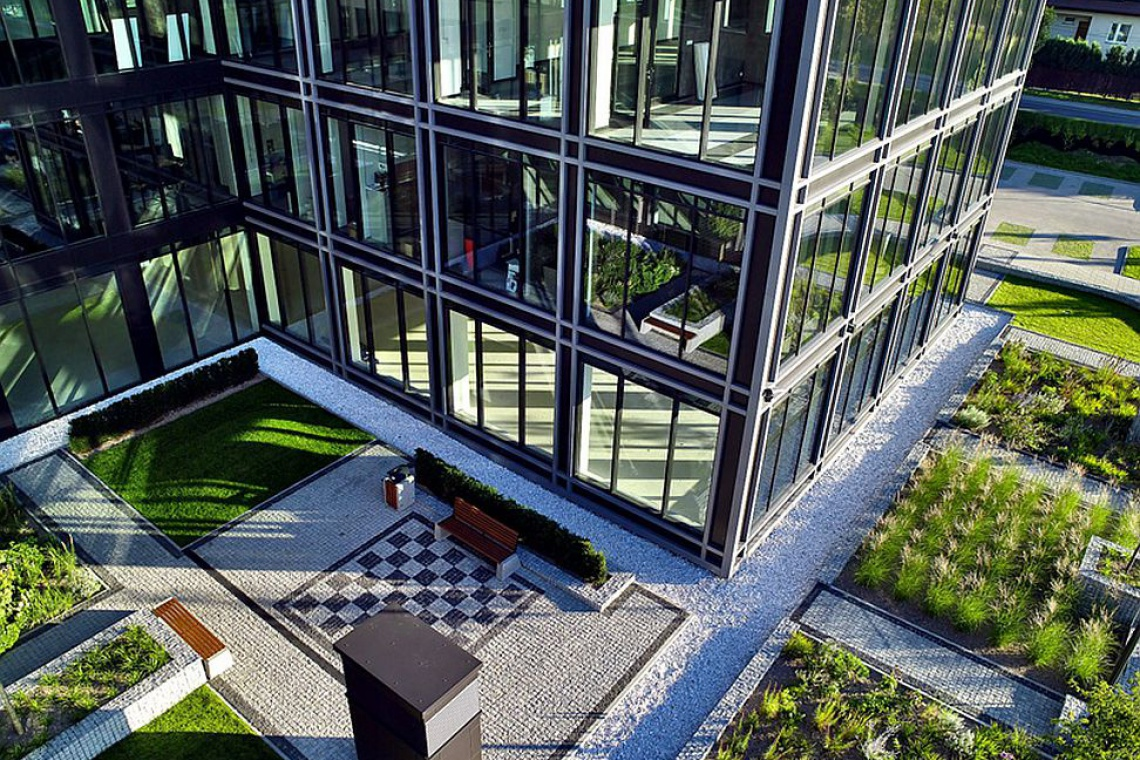 Innowacyjna architektura The Park Warsaw według projektu APA Wojciechowski