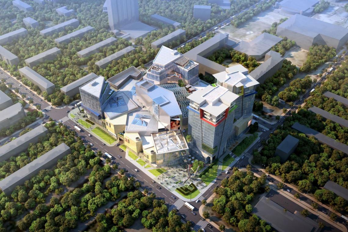 Knutsevo Plaza w Rosji projektu Jerde Partnership
